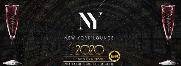 Capodanno 2020 New York Lounge Milano