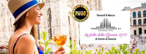 Festa Della Donna Terrazza Duomo 21 Milano
