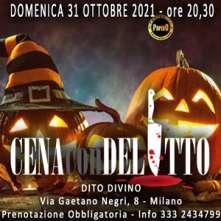 Domenica 31 Ottobre 2021 Cena con Delitto Milano