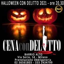 Cena con Delitto Halloween a Milano