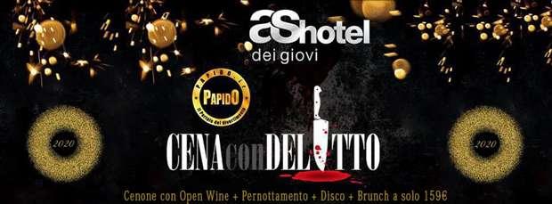 Cena con Delitto As Hotel dei Giovi Capodanno 2020