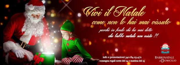 Babbo Natale A Domicilio.Babbo Natale A Domicilio Torino