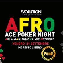 Afro Evolution Cafe venerdi 21 settembre 2018