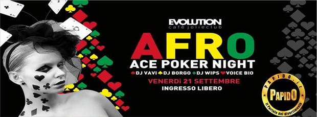 Afro 2018 Evolution Cafe venerdi 21 settembre 2018