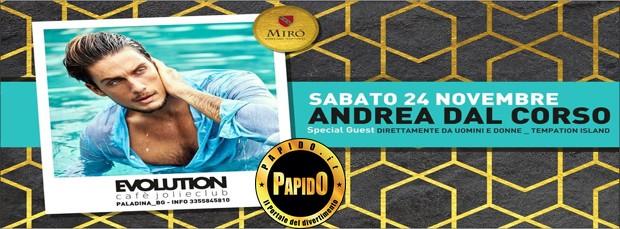 Andrea Dal Corso 2018 Evolution Cafe sabato 24 novembre 2018