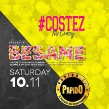 Besame Costez sabato 10 novembre 2018