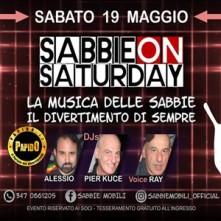 Sabbie on Saturday Sabbie Mobili sabato 19 maggio 2018