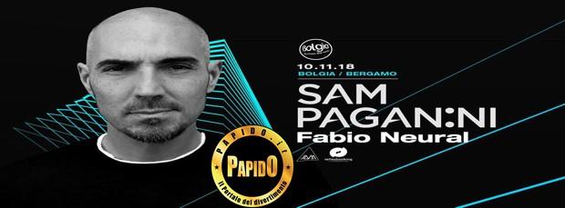 Sam Paganini 2018 Bolgia sabato 10 novembre 2018