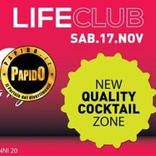 Tonica Life Club sabato 17 novembre 2018