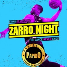 Zarro Night Setai sabato 17 novembre 2018
