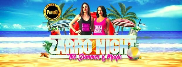 Zarro Night 2018 Setai sabato 15 settembre 2018