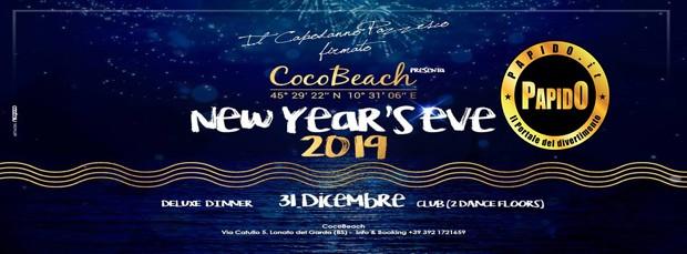 Capodanno 2018 Coco Beach lunedi 31 dicembre 2018