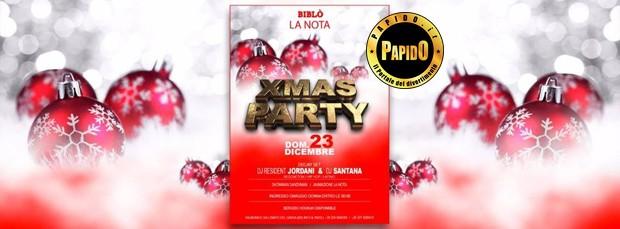 Xmas Party 2018 Biblo domenica 23 dicembre 2018