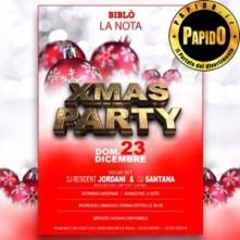 Xmas Party Biblo domenica 23 dicembre 2018
