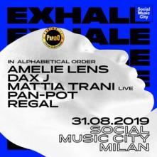 Sabato 31 Agosto 2019 Amelie Lens Social Music City Milano