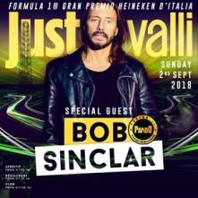 Dj Bob Sinclar 2018 Just Cavalli Domenica 2 Settembre 2018