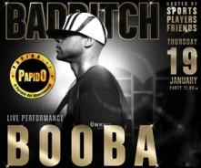 Booba Milano Hollywood Giovedi 19 Gennaio 2017