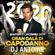 Capodanno 2020 Dj Antoine Le Rotonde di Garlasco