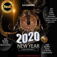Capodanno 2020 La Cantina Paderno Dugnano