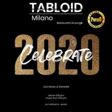 Capodanno 2020 Tabloid Milano