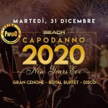Capodanno 2020 The Beach Milano
