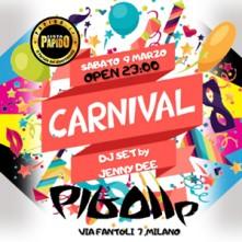 Carnevale @ Pigalle Milano Sabato 9 Marzo 2019