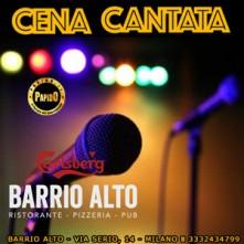 Sabato 27 Novembre 2021 Cena Cantata Milano