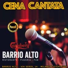 Sabato 16 Ottobre 2021 Cena Cantata Milano