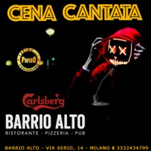 Halloween 2021 Cena Cantata Milano