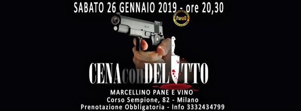 Cena con Delitto Milano @ Marcellino Pane e Vino