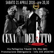 Cena con Delitto Milano