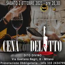 Sabato 2 Ottobre 2021 Cena con Delitto Milano