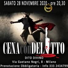 Sabato 28 Novembre 2020 Cena con Delitto Milano