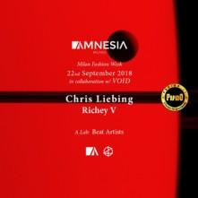 Sabato 22 Settembre 2018 Chris Liebing, Richey V Amnesia Milano