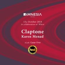 Sabato 13 Ottobre 2018 Claptone Amnesia Milano