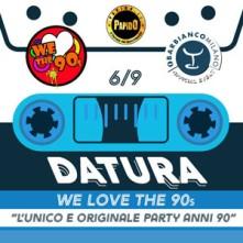 Tutti Omaggio in lista PAPIDO Giovedi We Love The 90's