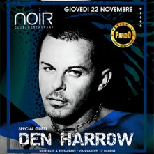Giovedi 22 Novembre 2018 Den Harrow Noir Club Lissone