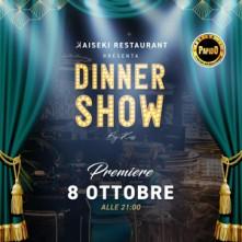 Dinner Show @ K Kaiseki Giovedi 8 Ottobre 2020 Sushi Castellanza
