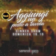 Domenica 18 Ottobre 2020 Serendepico Aggiungi un posto a tavola