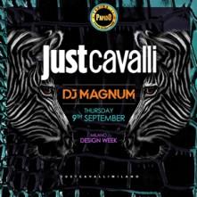 Dj Magnum Just Cavalli Milano Giovedi 9 Settembre 2021