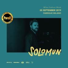 Venerdi 20 Settembre 2019 Solomun Fabrique Milano