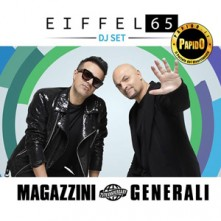 Eiffel 65 @ Magazzini Generali Sabato 9 Maggio 2020 Discoteca di Milano