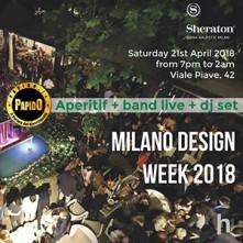 Milan Design Week 2018 Sheraton Diana Majestic sabato 21 aprile 2018