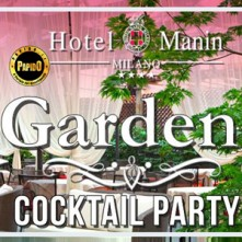 Aperitivo nel Giardino Hotel Manin Giovedi 17 Maggio 2018