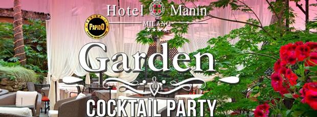 Aperitivo Giardino Hotel Manin Giovedi 17 Maggio 2018