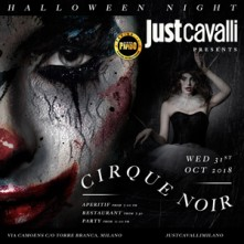 Halloween Cirque Noir 2018 Just Cavalli