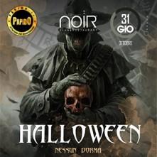 Halloween 2019 Nessun Dorma Noir Club
