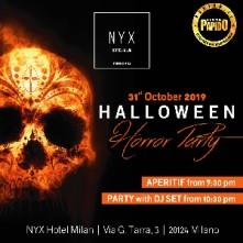 Halloween 2019 Horror Party Nyx Hotel