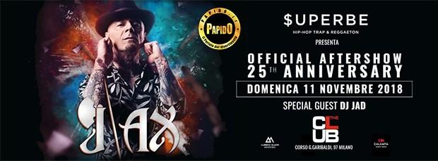 J Ax Domenica 11 Novembre 2018 The Club Milano