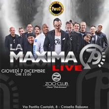 La Maxima 79 Zoo Club Giovedi 7 Dicembre 2017